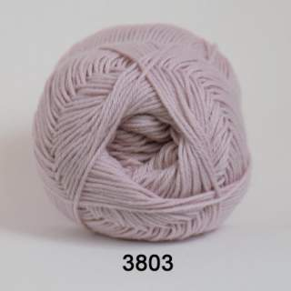 Cotton 165 (8/4) färg 3803 puderrosa