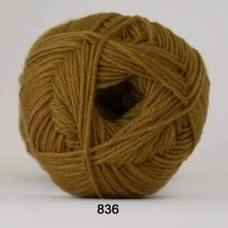 Sock 4 0836 olivgrön