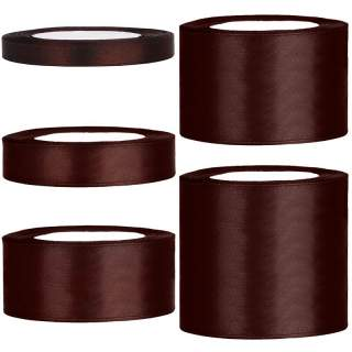 Satinband rulle 47 dark brown