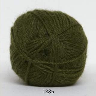 Hjerte Alpaca 1285 armegrön