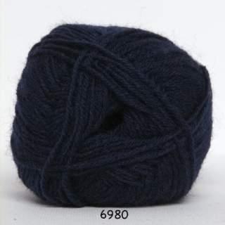 Sock 4 6980 marinblå