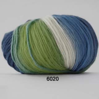 Incawool 6020 grönblåvit
