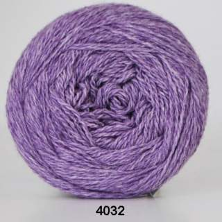Organic 350 - Wool Cotton 4032 ljuslila