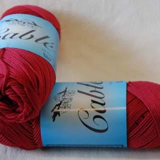 Fino Cablé 24/2x3 härva 7016 varm röd