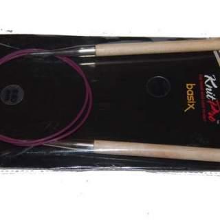 Rundsticka  12,0mm 80cm KnitPro trä