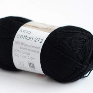 Lana cotton 212 0500 svart