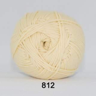 Cotton 165 (8/4) färg 0812 ljusgul