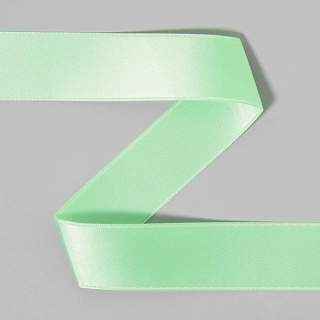 Satinband rulle 21 green