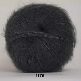 Silk Kid Mohair 1175 mörkgrå