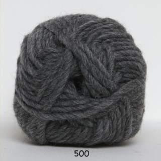 Natur uld 0500 grå