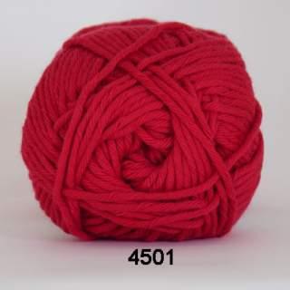 Cotton 8/8 4501 tomteröd