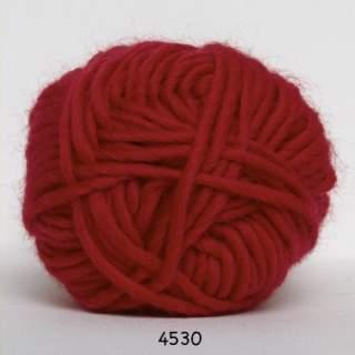 Natur uld 4530 röd