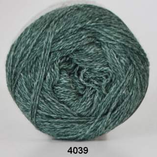 Organic 350 - Wool Cotton 4039 skogsgrön