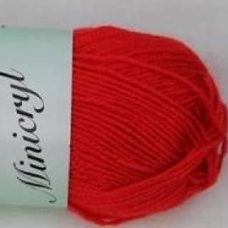 Minicryl 27004 röd
