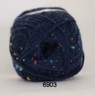 Deco  tweed 6903 blå
