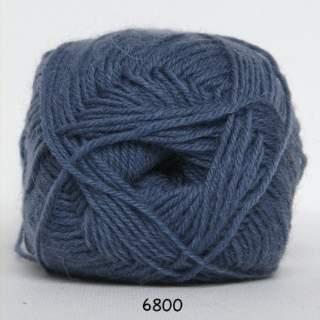 Sock 4 6800 jeansblå