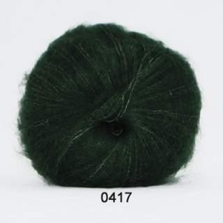Silk Kid Mohair 0417 mörkgrön