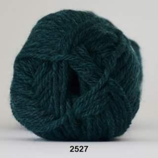 Ragg strømpegarn 2527 mörkgrön