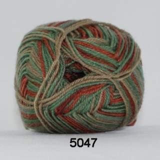 Ragg strømpegarn 5047 hippihöst