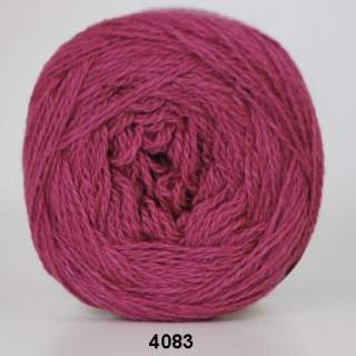 Organic 350 - Wool Cotton 4083 cerise