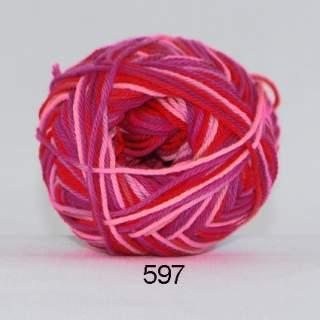 Cotton nr 8 597 jordgubb