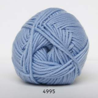 Extrafine Merino 120 4995 ljusblå