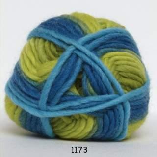 Natur uld print 1173 tropiskt hav