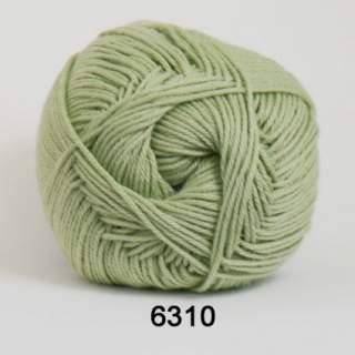 Cotton 100 6310 ljusgrön