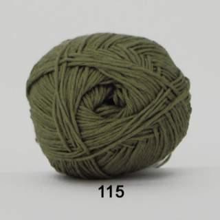 Green Cotton Linen 0115 grågrön