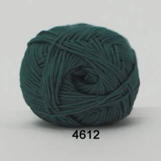 Green Cotton Linen 4612 jeansblå